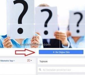 Facebook' ta Bir düğme ekleyin